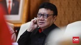 Tjahjo Benarkan Penyuap Nurhadi Pakai Nopol Kemenpan-RB