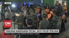 VIDEO: Tawuran Manggarai Pecah, 1 Polisi Luka Bacok