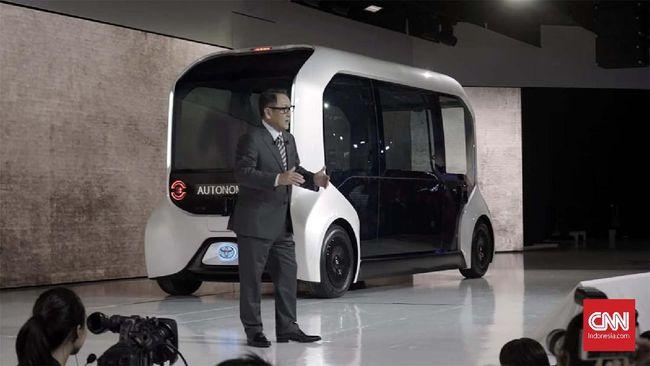 Toyota ingin membuktikan sebagai perusahaan penyedia mobilitas orang di masa depan.