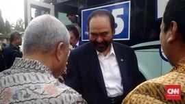 Surya Paloh Bantah Reaktif dan Emosional soal Sindiran Jokowi