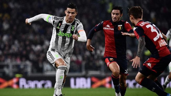 Juventus yang sempat kesusahan menghadapi Genoa dalam laga di Stadion Allianz, Kamis (31/10) dini hari WIB, memastikan kemenangan 2-1 berkat gol Ronaldo.