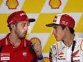 Rumor Heboh MotoGP: Dovizioso-Marquez Rekan Setim di Honda