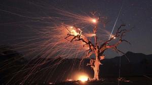 5 Meteor Hantam Bumi, Penampakan Bola Api Terbakar di AS