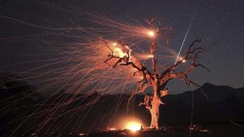 Meteor Raksasa Hantam Bumi, Terbakar di Langit Norwegia