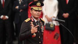 Kapolri Idham Azis ke Prabowo: Siap Komandan