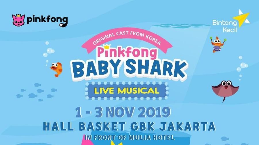 5 Pemenang Tiket Nonton Pinkfong Baby Shark Live Musical