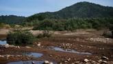 Debit air di Sungai Mekong, Thailand untuk pertama kalinya menyusut sangat parah dalam kurun waktu 30 tahun terakhir.