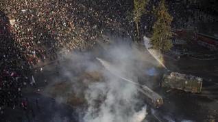 Korban Tewas Kerusuhan di Chile Tembus 23 Orang