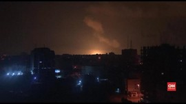 VIDEO: Pesawat Tempur Israel Gempur Gaza