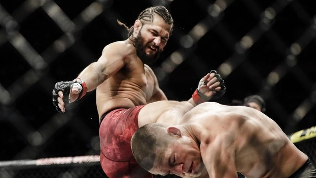 UFC 261: Masvidal, 'Street Jesus' Pendukung Trump