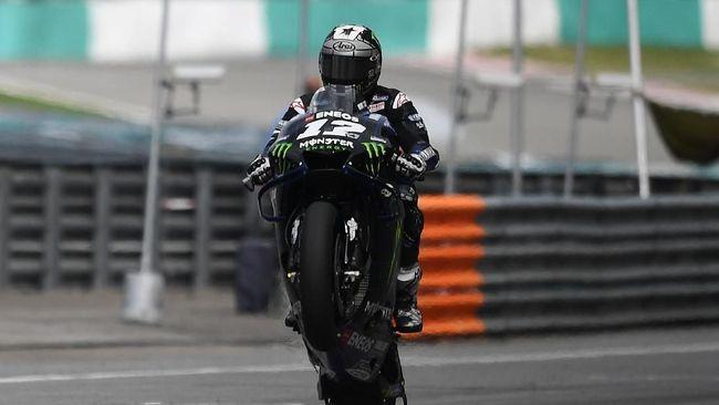 Sukses naik podium pertama MotoGP Malaysia, Minggu (3/11), Maverick Vinales mengaku sempat takut bakal dibalap Marc Marquez.