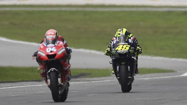 MotoGP 2020 jadi penanda berakhirnya kebersamaan Valentino Rossi dengan Monster Energy Yamaha dan Andrea Dovioso di Ducati.