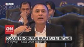 VIDEO: Dugaan Pencemaran Nama Baik Mochamad Iriawan