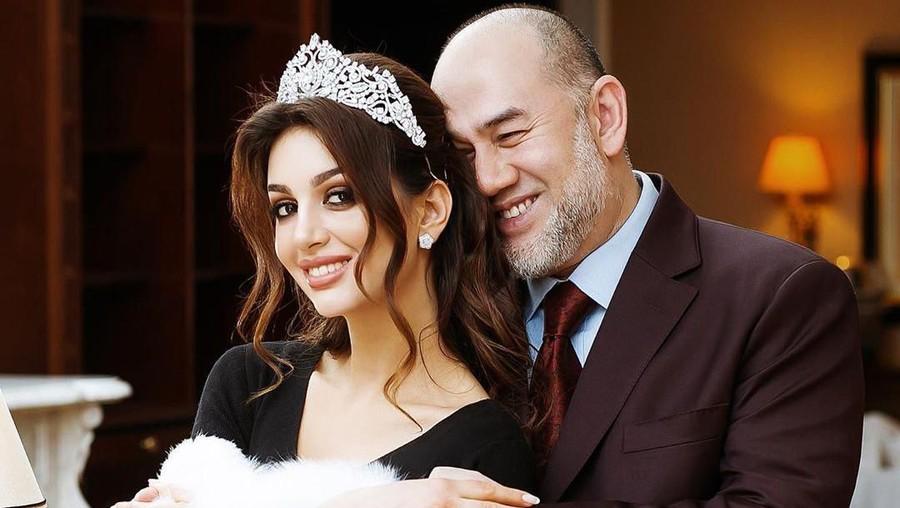 Sadis! Sultan Kelantan Tuding Bayi Miss Moskow Anak dengan Pria Asia Lain