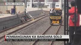 VIDEO: KA Bandara Adi Soemarmo Beroperasi Akhir Tahun 2019
