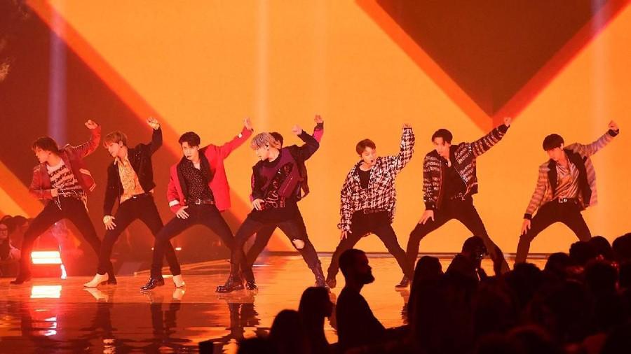 NCT 127 Berhasil Gebrak Panggung MTV EMA 2019