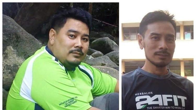 Pria ini mampu menurunkan berat badan secara bertahap sebanyak 65 kg karena bantuan dan dukungan istri.