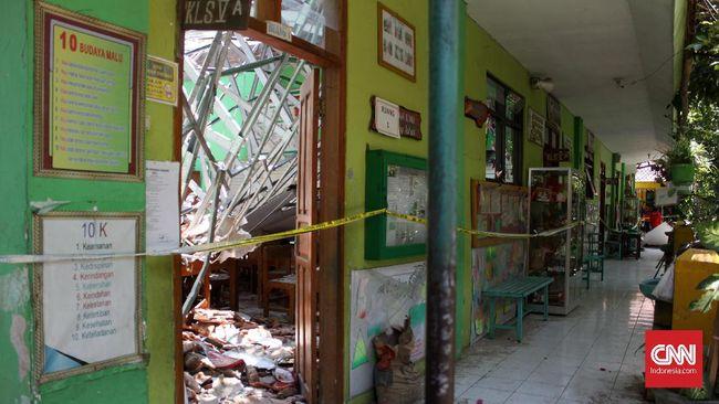 Dua Orang Jadi Tersangka Kasus Atap SDN Ambruk di Pasuruan