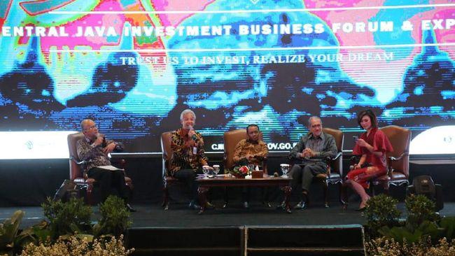 Pemprov Jawa Tengah menyatakan 59 investor China siap merelokasi pabrik ke provinsi tersebut.