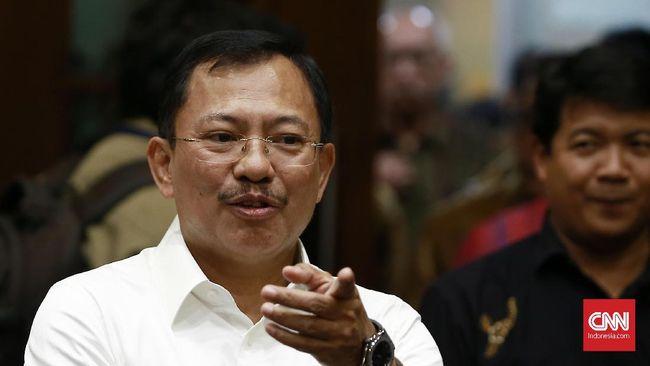 Eks Menkes Terawan Agus Putranto disebut pernah tolak menandatangani pembelian vaksin corona.