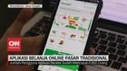 VIDEO: Belanja Pasar Tradisional Lewat Aplikasi Online