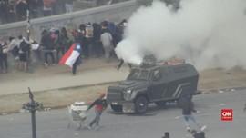 VIDEO: Pedemo Chile Kembali Bentrok dengan Aparat