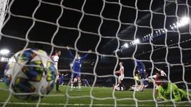 FOTO: Chelsea vs Ajax, Cerita Delapan Gol dan Dua Kartu Merah
