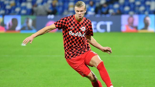 Manchester United (MU) dikabarkan berada di posisi terdepan dalam perburuan Erling Braut Haaland.