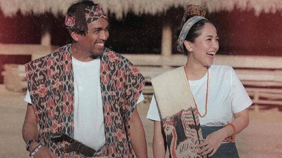 Foto-foto Istri Glenn Fredly, Mutia Ayu Hamil Besar