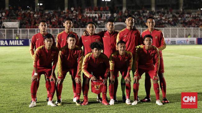 Timnas Indonesia U-19 tertinggal 0-1 dari Korea Utara dalam laga babak pertama kualifikasi Piala Asia U-19 2020 di SUGBK, Senayan, Jakarta, Minggu (10/11).