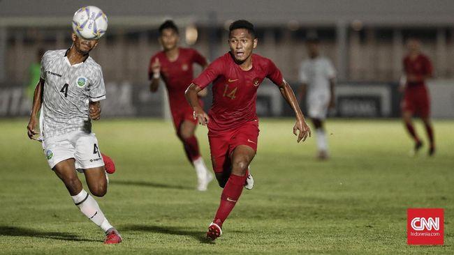 Penyerang sayap Fajar Fathur Rahman menjadi bintang kemenangan Timnas Indonesia U-19 atas Timor Leste di laga pertama Grup K Kualifikasi Piala Asia U-19 2020.
