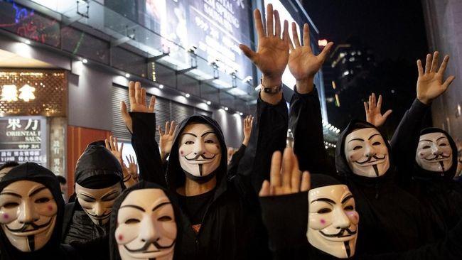Pengadilan Hong Kong Cabut Aturan Larangan Masker Saat Demo
