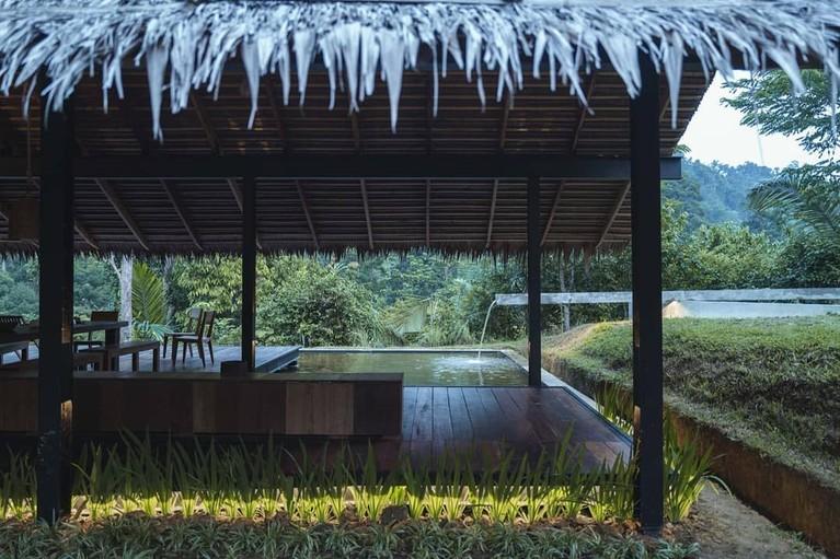 Mengintip penginapan cantik milik Nicholas Saputra di Tangkahan, Sumatera Utara.