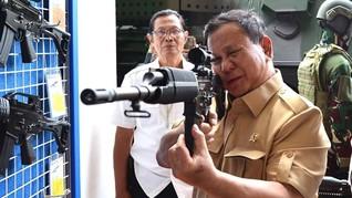 Prabowo Beli Alutsista Pindad: Hidupkan Industri Dalam Negeri