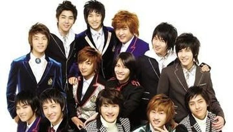 Sejak tahun 2005 hingga 2007, Super Junior terkenal dengan rambut panjang dan tajam. Hal ini karena mereka megikuti gaya Harajuku dengan rambut model tersebut.