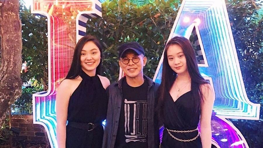 5 Fakta Dua Putri Aktor Laga Jet Li yang Cantik dan Cerdas