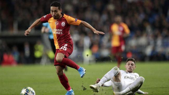 Galatasaray mengalahkan Lazio 1-0 dalam laga pembuka Liga Europa, Jumat (17/9) dini hari waktu Indonesia.