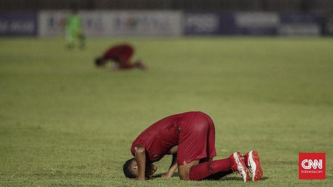 Timnas Indonesia U-19 bermain imbang 1-1 dengan Korea Utara dalam kualifikasi Piala Asia U-19 2020 di Stadion Utama Gelora Bung Karno, Minggu (10/11) malam WIB.