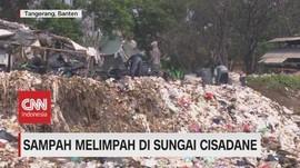 VIDEO: Sungai Cisadane Krisis Sampah