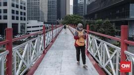 Pemprov DKI Ingin Bangun JPO Cantik, Bisa Dilalui Sepeda