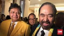 Paloh-Airlangga Bersua, NasDem Klaim demi Tiket Capres 'Full'