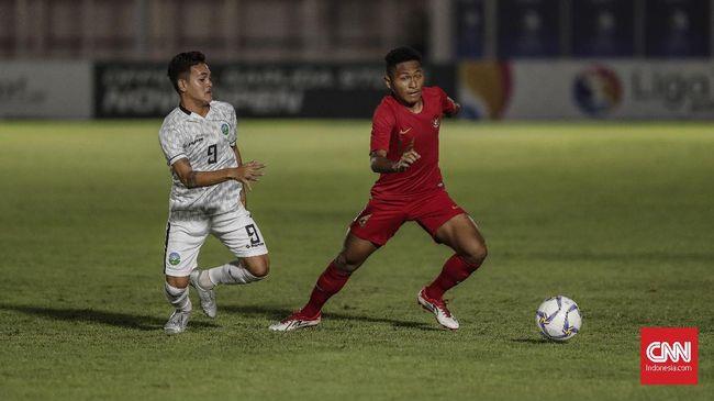 Penyerang sayap Timnas Indonesia, M Fajar Fathur Rachman, menjadi top skor Grup K Kualifikasi Piala Asia U-19 2020 setelah mencetak gol ke gawang Hong Kong.