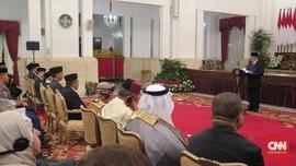 Jokowi-Ma'ruf Gelar Maulid Nabi Muhammad di Istana Negara