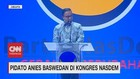 VIDEO: Pidato Anies Baswedan di Kongres Nasdem