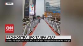 VIDEO: Pro-Kontra JPO Tanpa Atap DKI Jakarta