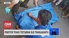 VIDEO: Pemotor Tewas Tertabrak Bus TransJakarta
