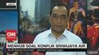 VIDEO: Menhub Tanggapi Konflik Sriwijaya Air