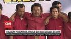 VIDEO: Tersangka Pembunuhan Jurnalis dan Mantan Caleg Ditahan