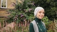 <p>Hijab model turban menjadi gaya andalan Isabel dalam berhijab. (Foto: Instagram @isabel.azhari)</p>