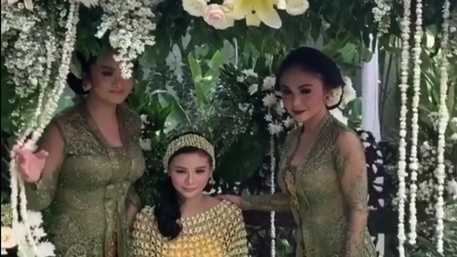 Kompaknya Krisdayanti dan Yuni Shara di Acara Jelang Pernikahan Adik
